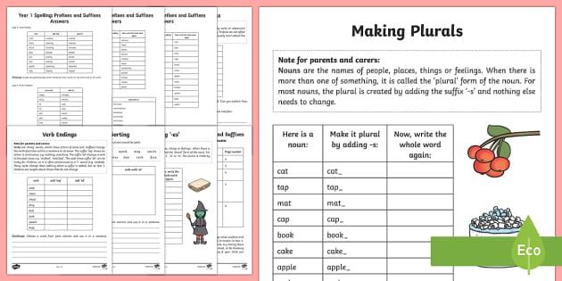 year 1 spelling prefixes and suffixes activity booklet. Black Bedroom Furniture Sets. Home Design Ideas
