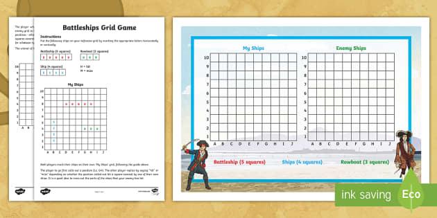 Battleships Grid Game - battleship, navy, scores, grids ...