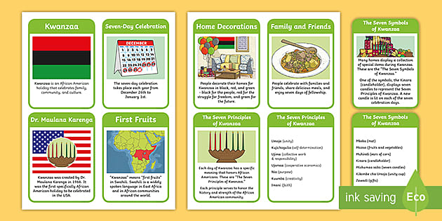 us2 t 121 all about kwanzaa read it information cards ver 2