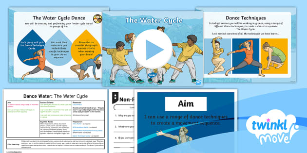 L Move Year 4 Dance Water Lesson 6 The Water Cycle Dance Water