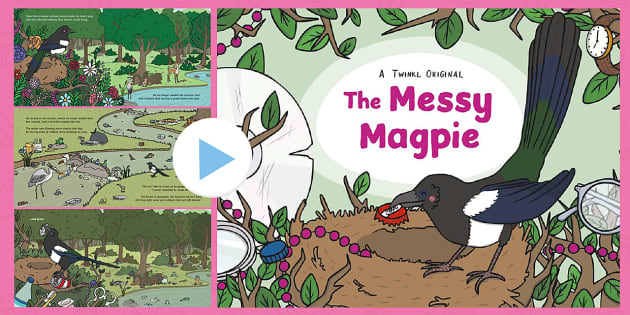 The Messy Magpie Story PowerPoint