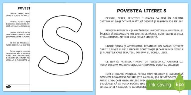 Litera S Poveste Poveste Litera S Alfabet Alfabetul Clasa