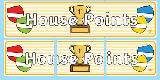 Image result for house point trophy cartoon