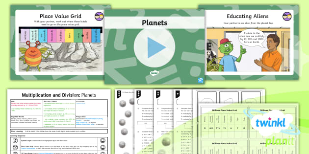 English In Italian: * NEW * PlanIt Maths Y5 Multiplication And Division Lesson