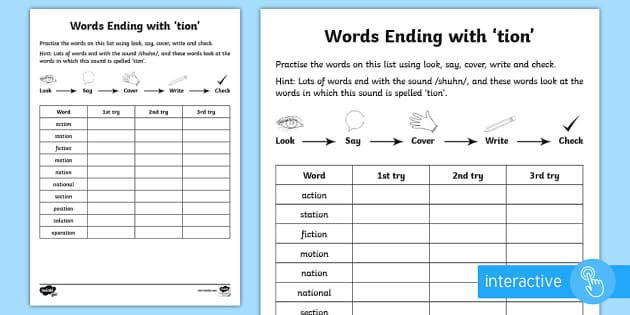 7 letter words ending in l year 2 spelling practice words ending with tion 25093 | t l 52766 year 2 spelling practice words ending with tion go respond activity sheet ver 1