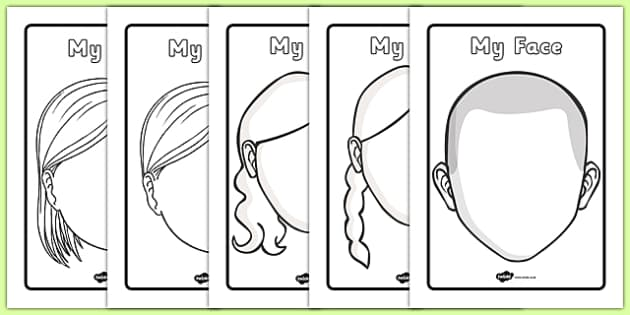 Blank Face Templates With Face Features   Blank Faces, Blank  Blank Face Templates