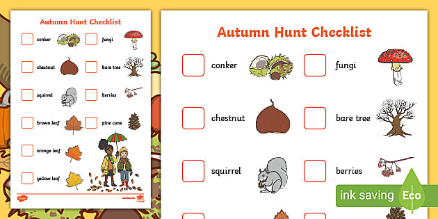 Autumn Activities For Early Years Eyfs Seasons Twinkl