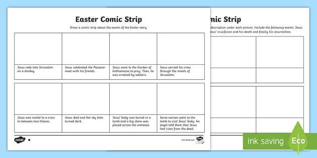 Comic Strip Template Word from images.twinkl.co.uk