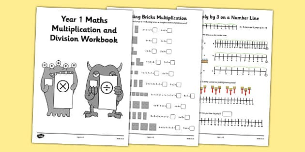 year 1 maths multiplication and division workbook year 1. Black Bedroom Furniture Sets. Home Design Ideas