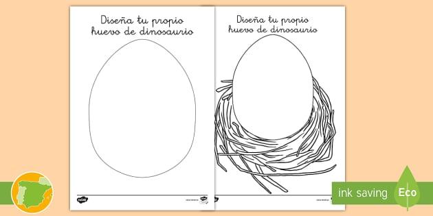 NEW * Ficha de actividad: Diseña tu propio huevo de