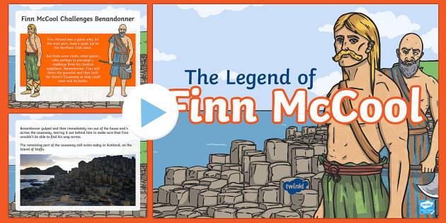 the legend of finn mccool powerpoint  teacher made