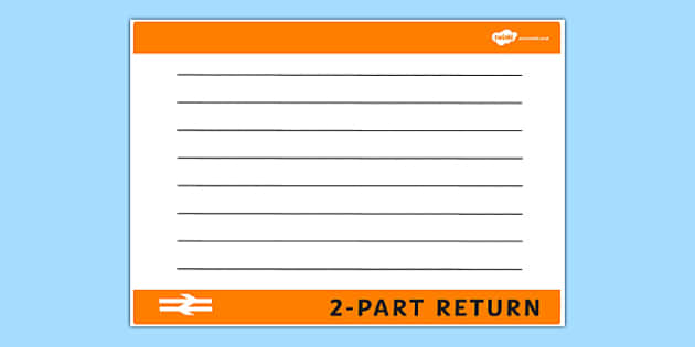 blank train ticket template train ticket template writing. Black Bedroom Furniture Sets. Home Design Ideas