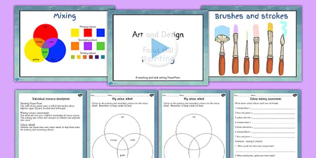 KS2 Art Drawing Techniques Lesson Teaching Pack - teach, packs