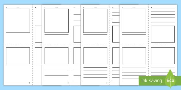 FREE! - Printable Mini Book Template - Teaching Resource ...