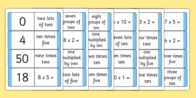 solve problems involving multiplication new 2014