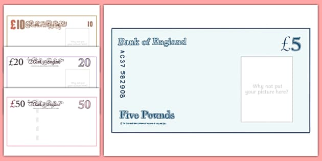 Maths intervention large bank note design templates sen pronofoot35fo Choice Image