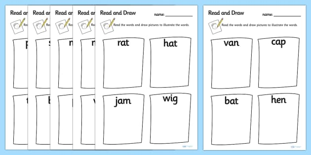 CVC Words Worksheets Primary Resources Primary Page 1 – Cvc Worksheets