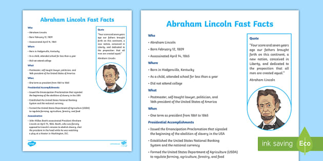 Abe lincoln coloring pages with facts | 315x630