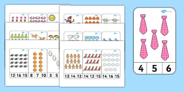 Read and write numbers from 1 to 20 - Maths, New 2014