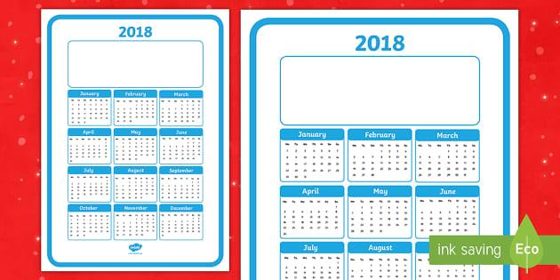 Christmas Gift Calendar 2018 Poster   2018 Calendar Christmas