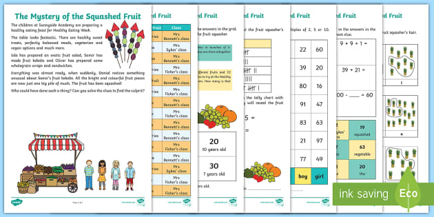 FREE! - Fruit And Vegetables Themed A4 Page Border - food, fruit