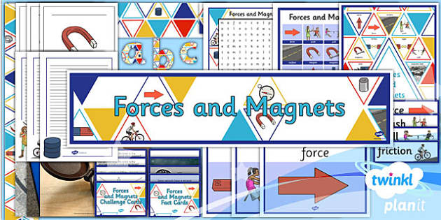 Science Forces And Magnets Year 3 Unit Additional Resources
