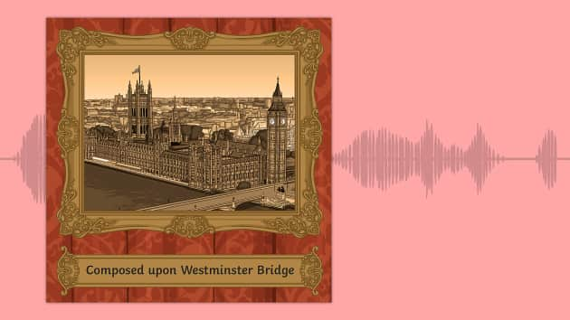 composed upon westminster bridge september 3 Composed upon westminster bridge, september 3, 1802 by william wordsworth • 356 poems by william wordsworth earth has not anything to show more fair: dull would he be of soul who could pass by a sight so touching in its majesty: this city now doth, like a garment, wear the beauty of the morning silent, bare, ships, towers, domes, theatres.