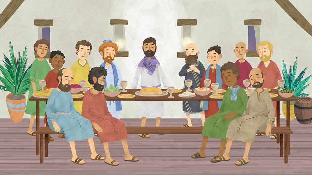 The Last Supper Animation Story