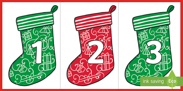 It's just a picture of Christmas Numbers Printable throughout stencil