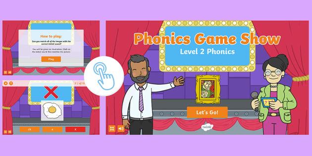 Level 2 Phonics Game Show