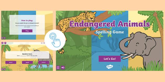 animal game buy a endangered