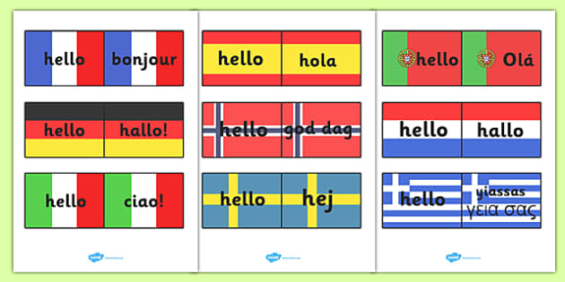 Mixed language hello speech bubble signs mixed language hello hello languages on flags m4hsunfo