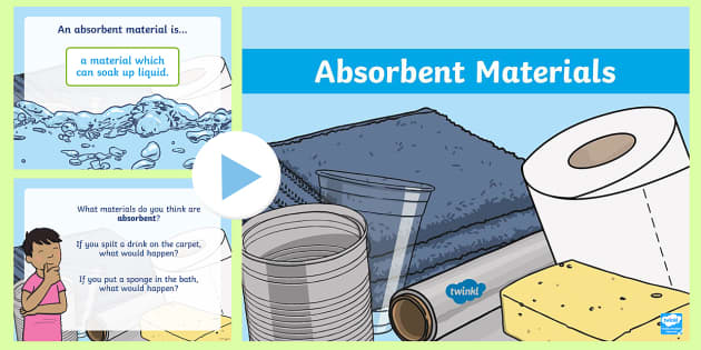 Image result for absorbent materials