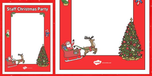 christmas staff party ideas london