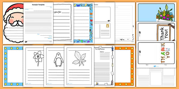 letters postcards and cards early years eyfs page 3