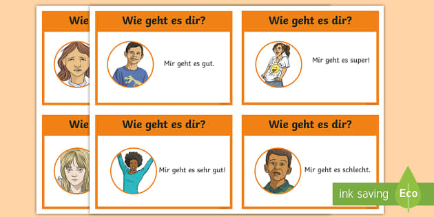 Basic phrases greetings primary resources german how are you flashcards german m4hsunfo Image collections