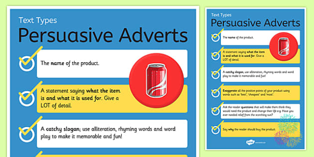 Text Types Guide Persuasive Writing Display Poster ...