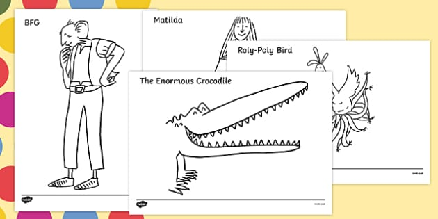 Matilda Coloring Pages - Eskayalitim