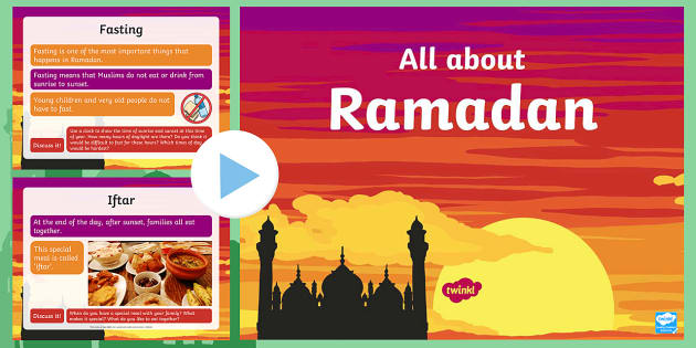 preview of EYFS All About Ramadan PowerPoint