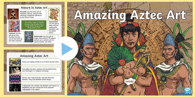 Aztec Art Lesson Ideas