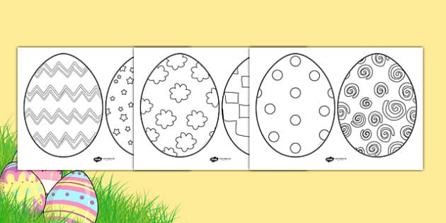 Easter Egg Sheets