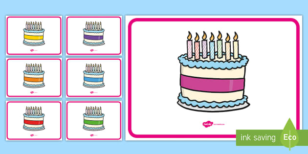Swell Free Editable Birthday Cakes 7 Candles Funny Birthday Cards Online Overcheapnameinfo