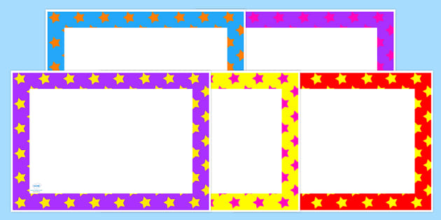 Star Pattern Editable Blank Certificates
