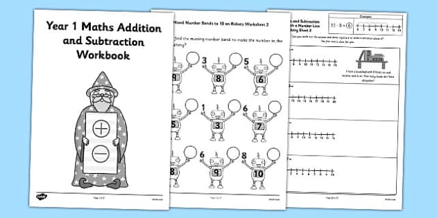 year 1 maths addition and subtraction worksheets australia