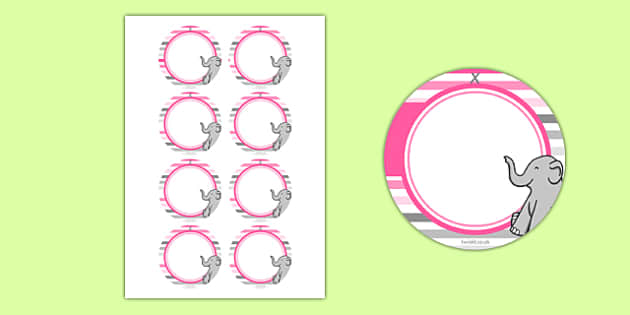 Baby Shower Name Tags Pink Themed Baby Shower Baby Shower Newborn