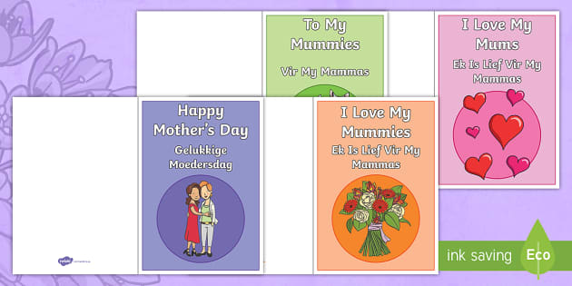 New happy mothers day greeting cards englishafrikaans new happy mothers day greeting cards englishafrikaans m4hsunfo