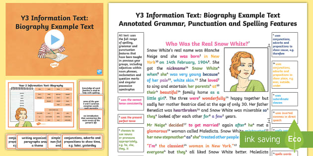 information text year 4 examples pdf