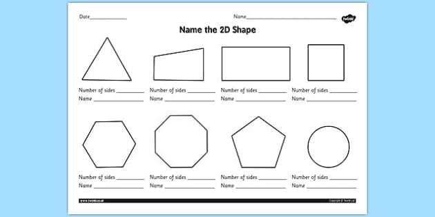 2d shapes worksheet teacher made. Black Bedroom Furniture Sets. Home Design Ideas