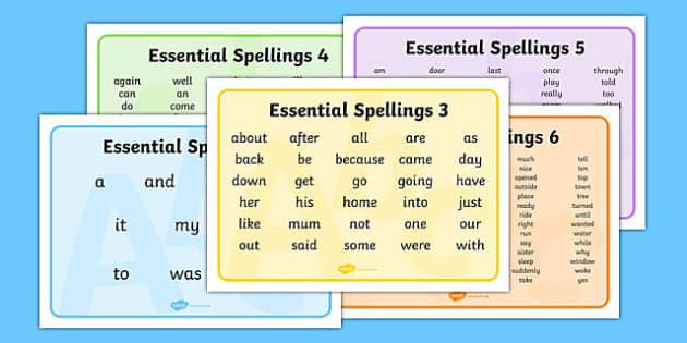 new zealand essential spelling word mats. Black Bedroom Furniture Sets. Home Design Ideas