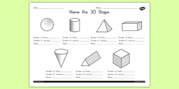 name the 3d shape worksheet 1 australia 3d shape names. Black Bedroom Furniture Sets. Home Design Ideas